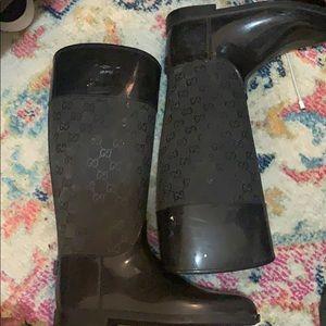 Authentic Gucci rainboots